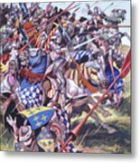 Agincourt The Impossible Victory 25 October 1415 Metal Print
