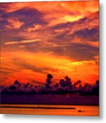 ... And As The Sun Sets On Another Beautiful Day Metal Print