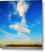 Angel  Walking On Air  Metal Print
