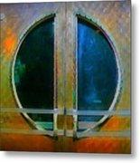 Art Deco Door In Halifax Nova Scotia Metal Print