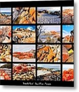 ' Australia Rocks ' - Bay Of Fires - Tasmania Metal Print