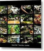 ' Australia Rocks ' Mossman Gorge - North Queensland Metal Print