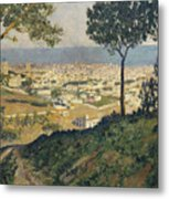 Barcelona Seen From Vallvidrera Metal Print