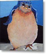 Bird With An Attitude Metal Print