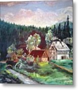 Black Forest Germany Metal Print