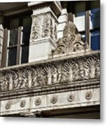 Building Detail At Bowling Green Metal Print