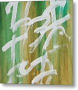 Chinese Numbers Metal Print
