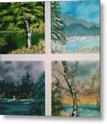 Colors Of Landscape Metal Print