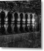 Columns And Pine Metal Print