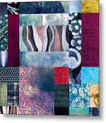 Composition Abstraite Metal Print