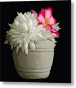 Desert Rose   Chrysanthemum And Adenium Obesum Metal Print