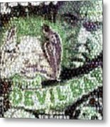 Devil Bat Movie Poster Horror Mosaic Metal Print
