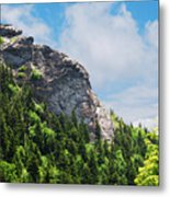 Devil's Courthouse Blue Ridge Mountains Metal Print