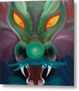 Dragon One Metal Print