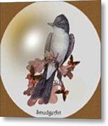 Eastern Kingbird Metal Print by Madeline  Allen - SmudgeArt