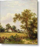 Essex Landscape  Metal Print