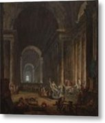 Finding Of The Laocoon Metal Print
