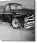 Ford Pick Up Metal Print