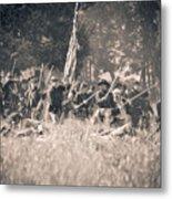 Gettysburg Union Infantry 9348s Metal Print