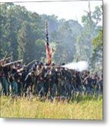 Gettysburg Union Infantry 9372c Metal Print