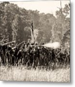 Gettysburg Union Infantry 9372s Metal Print