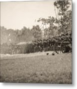 Gettysburg Union Infantry 9968s Metal Print