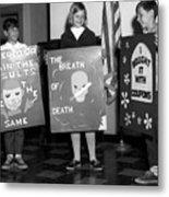 Grade School Children Kids Posters Circa 1960 Metal Print