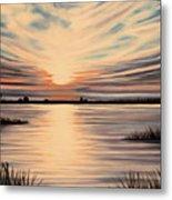 Highlights Of A Sunset Metal Print