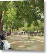 Hyde Park - London Metal Print