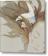 I Can Fly In My Dreams Metal Print
