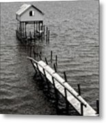 Indian River Pier Metal Print