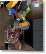 Interview-the Wisdom Of The Stairs Metal Print