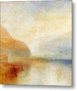Inverary Pier - Loch Fyne - Morning Metal Print by Joseph Mallord William Turner
