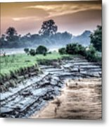 Irrawaddy River  Metal Print