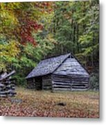 Jim Bales Place Barn Along Roaring Fork Motor Trail Metal Print
