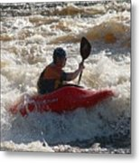 Kayak 3 Metal Print