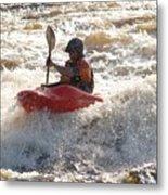 Kayak 4 Metal Print