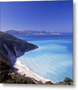 Kefallonia Blues Metal Print