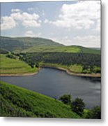 Kinder Reservoir From White Brow Metal Print