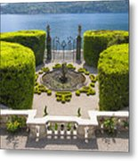 Lake Como,villa Carlotta, Italy Metal Print