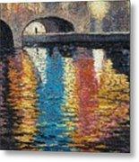 Light On The Water Metal Print