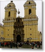Lima Peru Church Metal Print