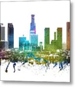 Los Angeles Cityscape 01 Metal Print