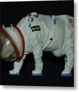 Maurice The Space Cow Boy Metal Print