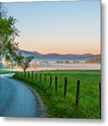 May Morning In The Cove Metal Print