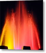 Mulholland Fountain Metal Print