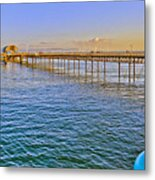 Mumbles Pier And Lifeboat Station Metal Print