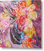 My Bouquet Metal Print