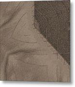 Oak Leaf Abstract Metal Print
