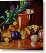 Pail Of Plenty Metal Print